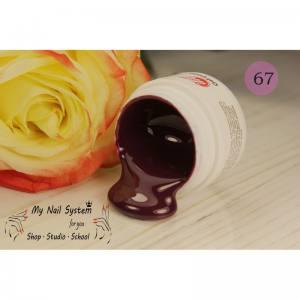 Гель-краска для ногтей My Nail №67 темный вишневый