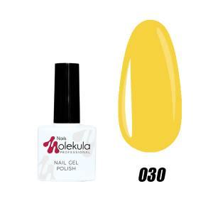 Гель-лак №030 Molekula 11мл Желтый