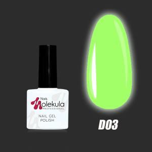 Гель-лак Molekula DISCO collection №D03 Denver club 11мл