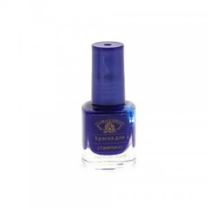 Лак-краска для стемпинга Global 7мл синяя