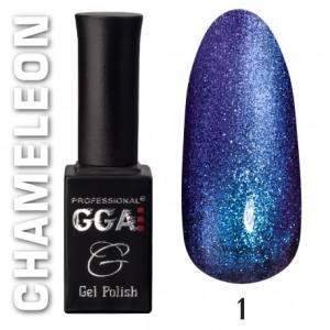 Гель-лак GGA Professional 10мл хамелеон №1