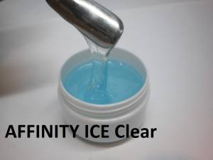 Гель для наращивания однофазный  AFFINITY Ice Clear