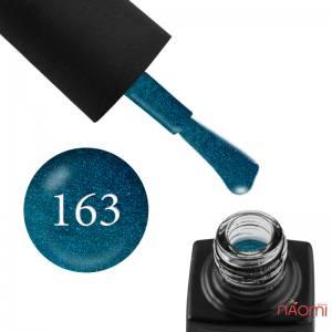 Гель-лак GO 163 бирюзовый ультрамарин, с шиммерами, 5,8 мл