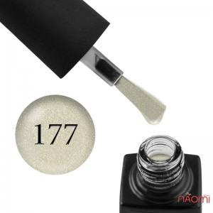 Гель-лак GO 177 светло-салатовые блестки, 5,8 мл