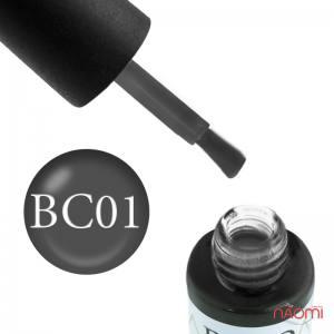 Гель-лак Naomi Boho Chic BC 01 серый, 6 мл