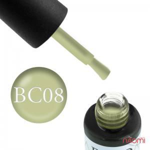 Гель-лак Naomi Boho Chic BC 08 фисташково-зеленый, 6 мл