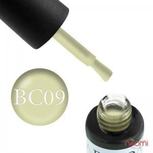 Гель-лак Naomi Boho Chic BC 09 светло-оливковый, 6 мл