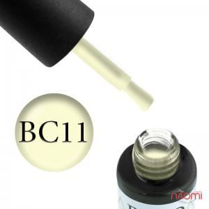 Гель-лак Naomi Boho Chic BC 11 молочный желтый, 6 мл