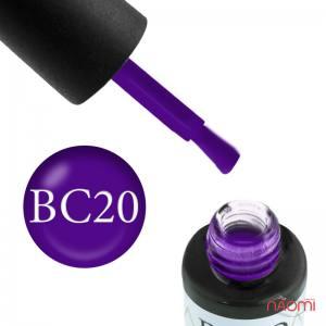 Гель-лак Naomi Boho Chic BC 20 фиолетовый, 6 мл
