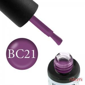 Гель-лак Naomi Boho Chic BC 21 фиолетовая марсала, 6 мл
