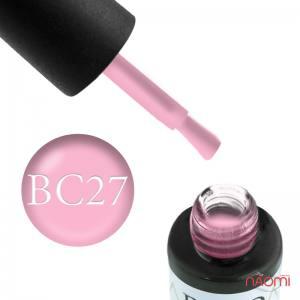 Гель-лак Naomi Boho Chic BC 27 пудрово-розовый, 6 мл