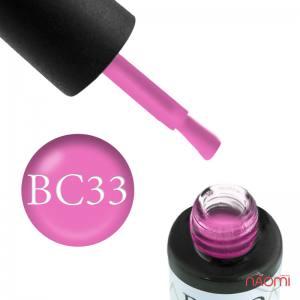 Гель-лак Naomi Boho Chic BC 33 розовый, эмалевый, плотный, 6 мл