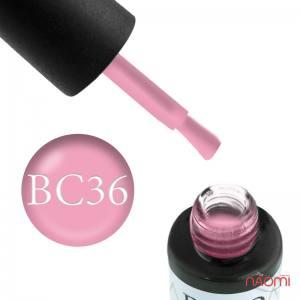 Гель-лак Naomi Boho Chic BC 36 розовый,эмалевый, плотный 6 мл