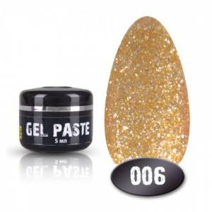 Гель паста Mett №006 5мл. золото