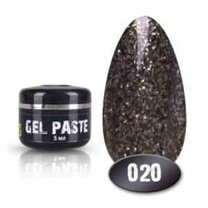 Гель паста Mett №020 5мл. черный оттенок