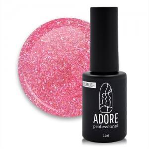 Гель-лак Adore Professional 7,5 мл №446  Розовое мерцание