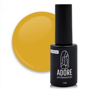 Гель-лак Adore №468 7,5мл горчичный