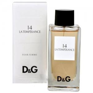 Женская туалетная вода D&G Anthology La Temperance 14 Dolce&Gabbana 100ml