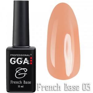 Френч база GGA Professional 03 15мл