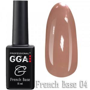 Френч база GGA Professional 04 15мл