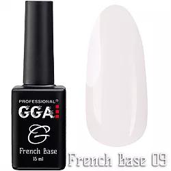 Френч база GGA Professional 09 15мл