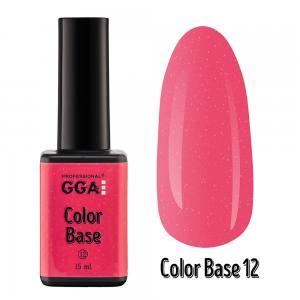 База цветная Сolor Base GGA Professional 15 мл 12