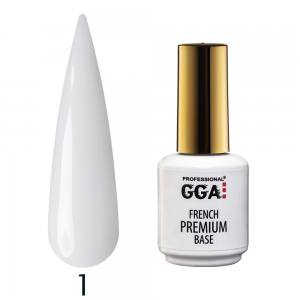 База камуфлирующая Premium French Base GGA Professional 15 мл №1