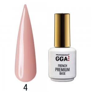База камуфлирующая Premium French Base GGA Professional 15 мл №4