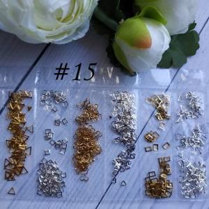 Металлический декор для ногтей в упаковке Barbie Nails №15