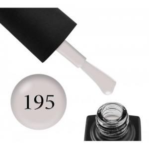 Гель-лак GO 195 (мягкий серый, эмаль), 5,8 мл