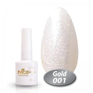 Гель-лак Nice Cool Gold 8.5g 001