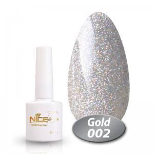 Гель-лак Nice Cool Gold 8.5g 002