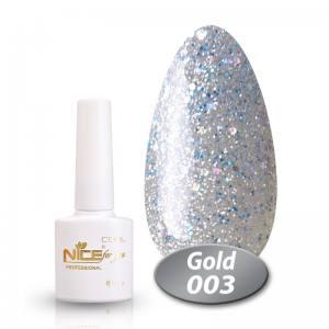 Гель-лак Nice Cool Gold 8.5g 003
