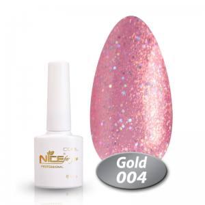 Гель-лак Nice Cool Gold 8.5g 004