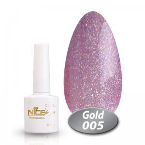 Гель-лак Nice Cool Gold 8.5g 005