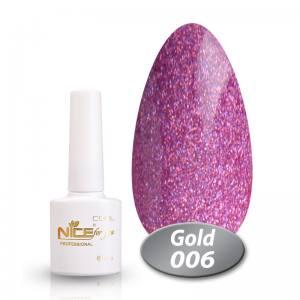 Гель-лак Nice Cool Gold 8.5g 006