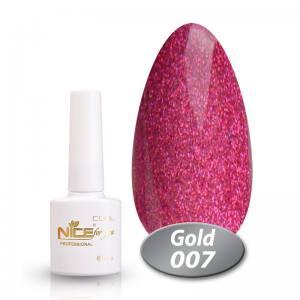 Гель-лак Nice Cool Gold 8.5g 007