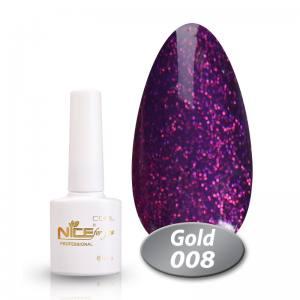 Гель-лак Nice Cool Gold 8.5g 008