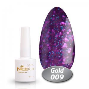 Гель-лак Nice Cool Gold 8.5g 009