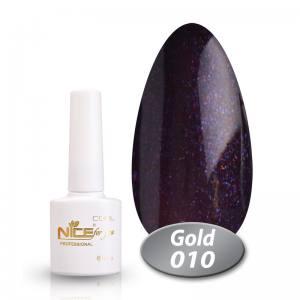 Гель-лак Nice Cool Gold 8.5g 010