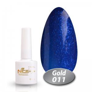Гель-лак Nice Cool Gold 8.5g 011