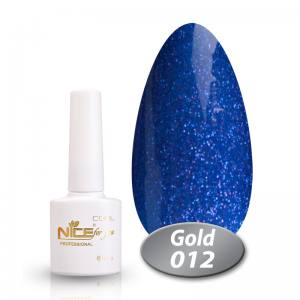 Гель-лак Nice Cool Gold 8.5g 012