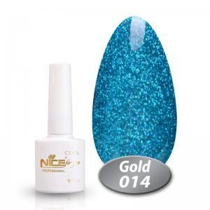 Гель-лак Nice Cool Gold 8.5g 014