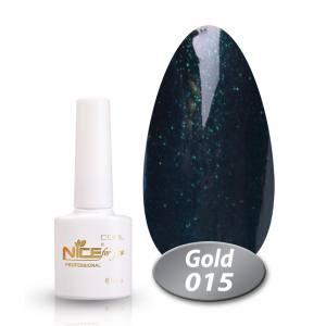 Гель-лак Nice Cool Gold 8.5g 015