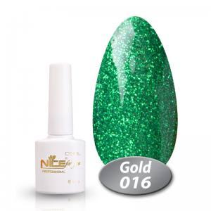 Гель-лак Nice Cool Gold 8.5g 016