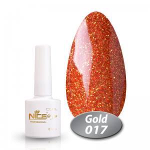 Гель-лак Nice Cool Gold 8.5g 017