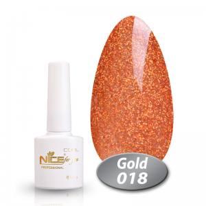 Гель-лак Nice Cool Gold 8.5g 018
