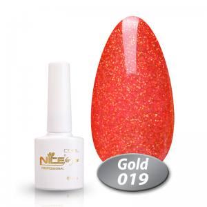 Гель-лак Nice Cool Gold 8.5g 019