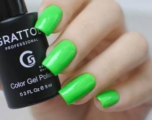 Гель-лак Grattol Color Gel Polish Lime №37 9мл
