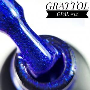 Гель-лак GRATTOL Opal 12, 9 мл